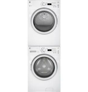 Combo laveuse 4,8 pi3 / sécheuse 7 pi3, chargement frontal, couleur Blanc