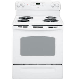 "GE 30"" Free-Standing Electric Range - Full Size Oven"