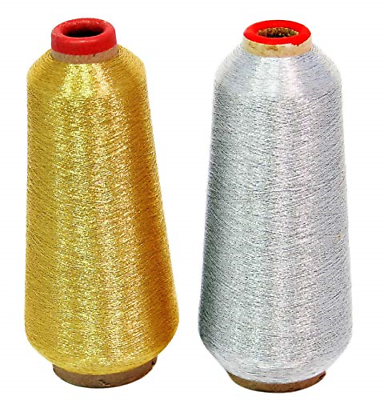 ThreadNanny New Gold & Silver Metallic Machine Embroidery Th