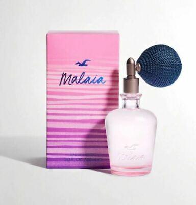 NEW Hollister By Abercrombie Women's Malaia Perfume Eau De Parfum 2.0 oz/60ml
