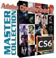 ADOBE PHOTOSHOP MASTER COLLECTION CS6** CC 2015 —PC--MAC