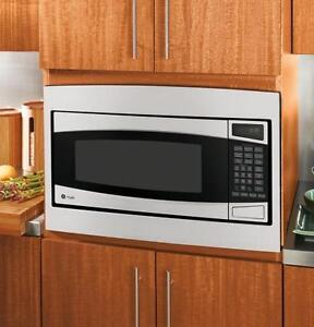 """24"""" GE Profile built-in Microwave with trim kit"""