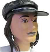 Hat with Attached Hair
