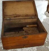 Primitive Wood Box