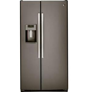 FRIDGE GE 23CU SLATE OPEN BOX