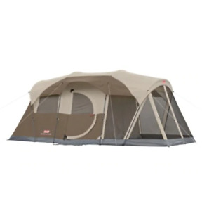 Coleman Weathermaster Tent with Screen House, 6-Person