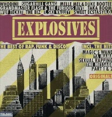 Explosives - The Best of Rap, Funk & Disco - Vinyl LP