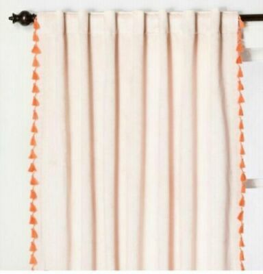Opalhouse Blush Pink Velvet Window Panel   84