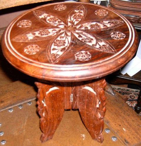 Carved Teak Table