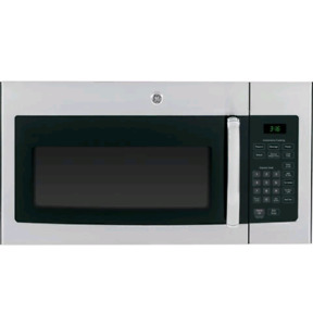 New GE stainless steel microwave over the range jvm 1635 sfc