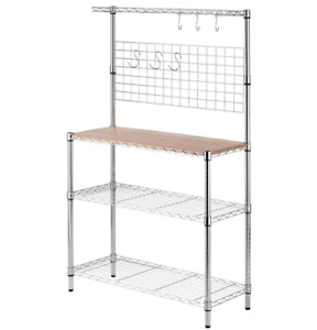Canadian Tire - For Living Chrome Baker's Rack
