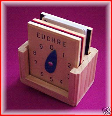 Euchre Score Counters Set With Whats Trump
