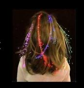 Fiber Optic Hair