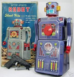 ** Old Tin Robot and Space Related & Other Old Tin Toys Wanted**