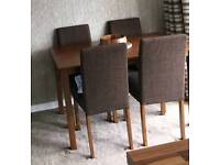 Excellent condition table and 4 chairs