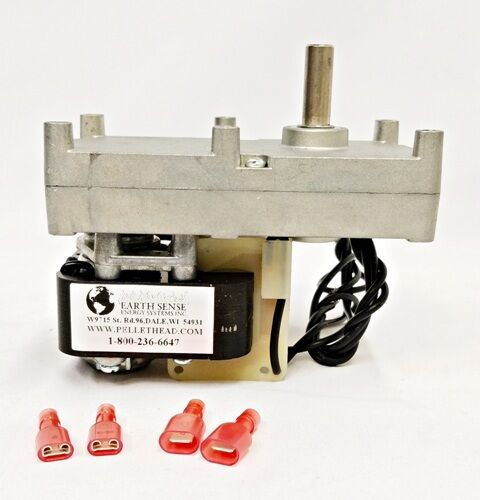 WHITFIELD Auger Motor, Pellet Stove Feed Fuel Motor H5886, 12046300, PH-CW1