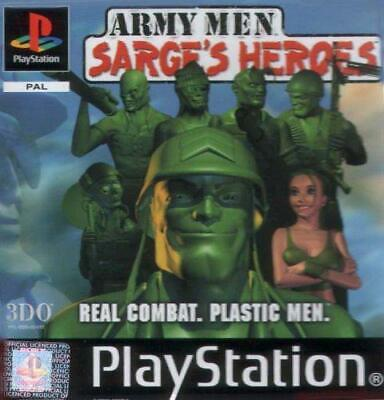 Army Men: Sarges Heroes, Good PlayStation, Playstation Video Games