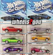 Hot Wheels Mustang Set