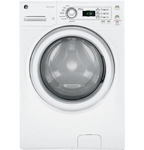 GE 3.6 DOE Cu. Ft. Capacity Frontload Washer, stackable