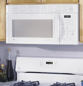 Microwave with hood combo-white $100 Summer Sale