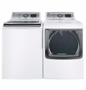 27'' White Washer-Dryer Combo, Gas