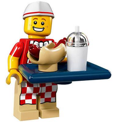 LEGO #71018 SERIES 17 MINIFIGURE HOT DOG VENDOR