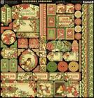 Graphic 45 Holidays Scrapbooking Stickers