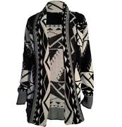 Ladies Long Knitted Cardigan