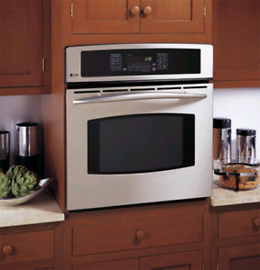GE PROFILE STAINLESS STEEL WALL OVEN 30""
