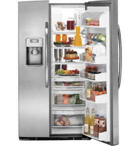 BRAND NEW FRIDGE GE 23CU OR 26CU SXS STAINLESS STEEL