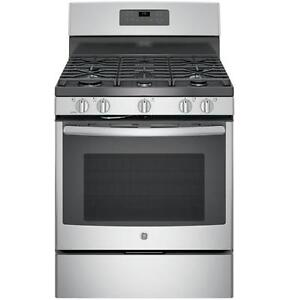 BRAND NEW GAS STOVE GE STAINLESS STEEL