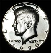 1970 s Proof Kennedy Half Dollar