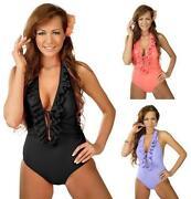 Ruffle Swimming Costume