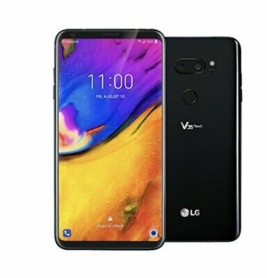 LG V35 ThinQ 64GB LM-V350AWM GSM World Smart Phone - Black (Unlocked)