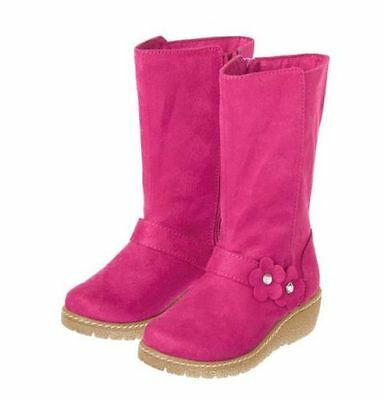 Pink Fairy Schuhe (NWT Gymboree FAIRY TALE FOREST SZ 10 12 13 1 2 Pink Flower Faux Suede Boots)