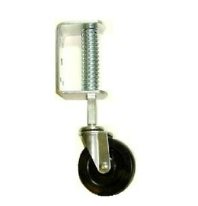 Heavy Duty Gate Caster Or Ladder Caster Spring Loaded With