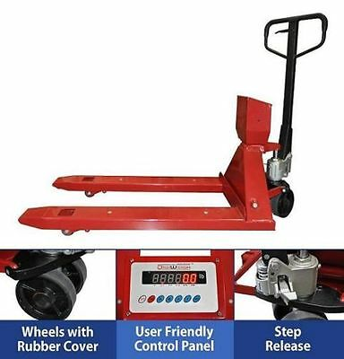 Dwp-pj4400 Pallet Jack Scale Industrial Professional Shipping Truck Digital