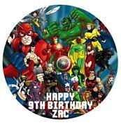 Superhero Cake Toppers