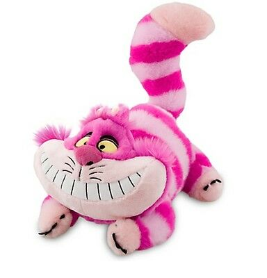 Disney Authentic Patch Cheshire Cat Plush Stuffed Animal 20