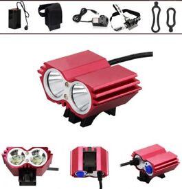 LED Bicycle bike HeadLight Lamp Flashlight