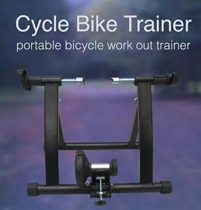 NEW INDOOR HOME BIKE CYCLING MAGNETIC WIND TRAINER New In Box