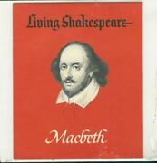 Living Shakespeare Records