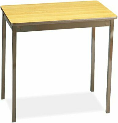 Barricks Utility Table - Rectangle Top - Square Leg Base - 4 Legs - 30 Table