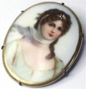 Hand Painted Cameo