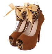 Brown Pumps High Heels