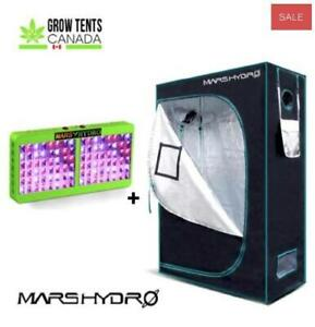 BUY NOW! Starter Grow Kits, LED Grow Lights, Grow Tents - Use Promo Code GROW15 For $15 OFF! FREE Quebec Shipping!
