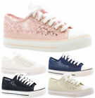 Floral Wedge Fashion Sneakers Athletic Shoes for Women