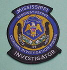 Collectible Mississippi Police Patches