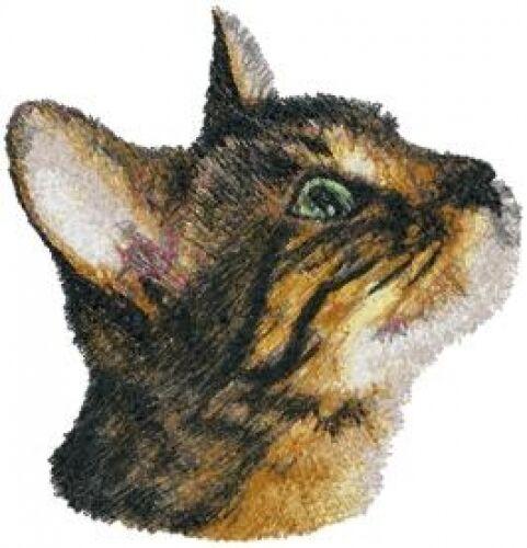 Embroidered Ladies Fleece Jacket - Bengal Cat AED16227 Sizes S - XXL