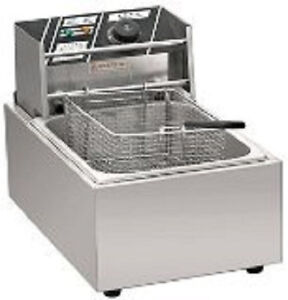 2500W 6 liter Electric Counter Deep fryer  Tank Basket  Commercial restaurant